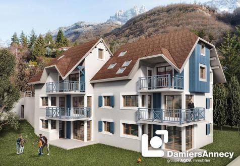 Appartement de luxe à vendre TALLOIRES, 105 m², 3 Chambres, 705640€
