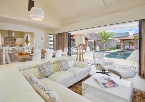 Вилла класса люкс на продажу  Маврикий, 162 м², 3 Спальни, 599526€