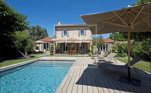 Luxury House for rent SAINT ETIENNE DU GRES, 160 m², 3 Bedrooms,