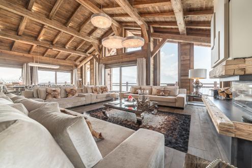 Chalet de luxe à louer COMBLOUX, 500 m², 7 Chambres,