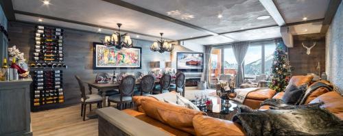 Appartement de luxe à louer COURCHEVEL, 188 m², 4 Chambres,