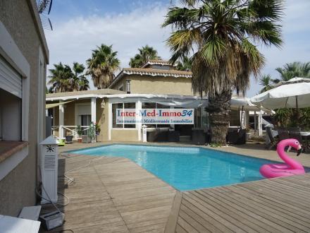 Maison de luxe à vendre LE CAP D'AGDE, 200 m², 5 Chambres, 572000€