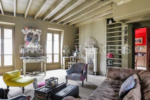 Luxus-Wohnung zu vermieten PARIS 4E, 105 m², 4 Schlafzimmer, 3700€/monat