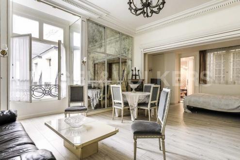 Квартира класса люкс на продажу  Париж 8ой, 54 м², 1 Спальни, 859000€