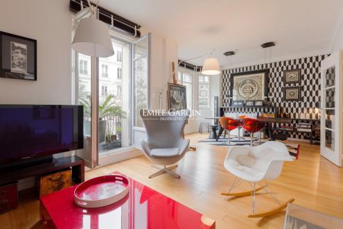 Appartement de luxe à vendre PARIS 4E, 101 m², 3 Chambres, 1470000€