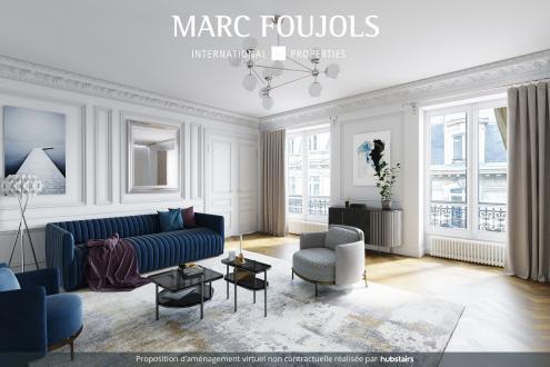Appartement de luxe à vendre PARIS 8E, 155 m², 3 Chambres, 1995000€