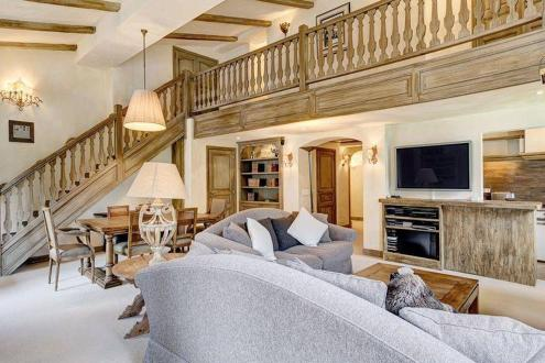 Luxus-Wohnung zu vermieten MEGEVE, 145 m², 4 Schlafzimmer,
