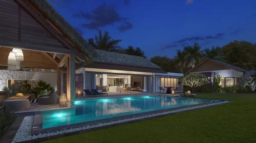 Villa de luxe à vendre Ile Maurice, 202 m², 4 Chambres, 1019231€
