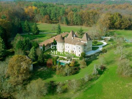 Château / Manoir de luxe à vendre SAINT ASTIER, 700 m², 7 Chambres, 2500000€