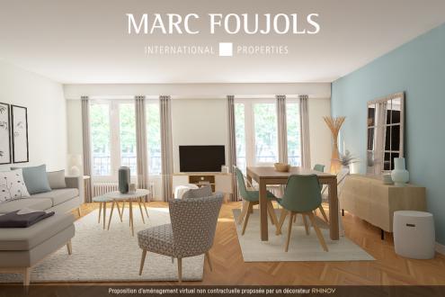 Luxury Property for sale PARIS 16E, 77 m², 2 Bedrooms, €942000