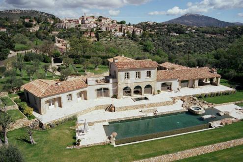 Propriété de luxe à vendre CHATEAUNEUF DE GRASSE, 720 m², 5 Chambres
