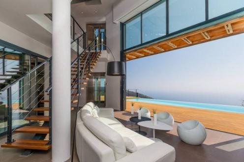 Luxus-Haus zu vermieten EZE, 350 m², 6 Schlafzimmer,