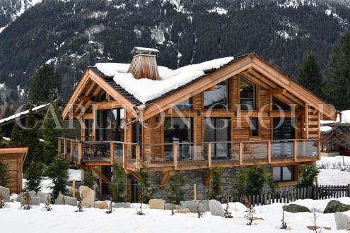 Chalet de luxe à louer CHAMONIX MONT BLANC, 326 m², 5 Chambres,