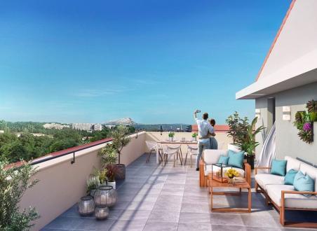 Квартира класса люкс на продажу  Экс-Ан-Прованс, 87 м², 3 Спальни, 585000€