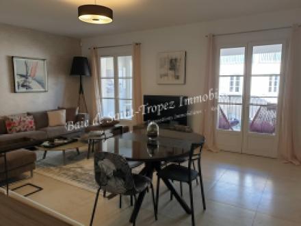 Квартира класса люкс в аренду Сен-Тропе, 90 м², 3 Спальни,
