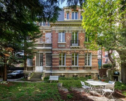 Hôtel particulier de luxe à vendre ASNIERES SUR SEINE, 390 m², 6 Chambres, 2650000€