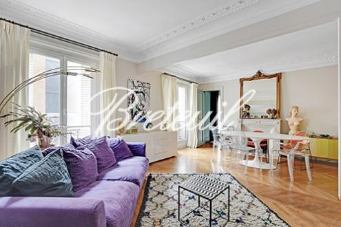 Квартира класса люкс на продажу  Париж 17ый, 86 м², 2 Спальни, 1290000€