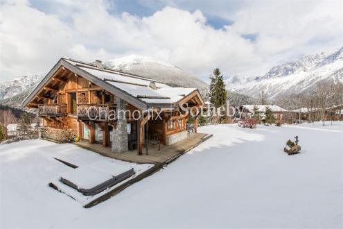 Chalet de luxe à vendre LES HOUCHES, 298 m², 5 Chambres, 2950000€