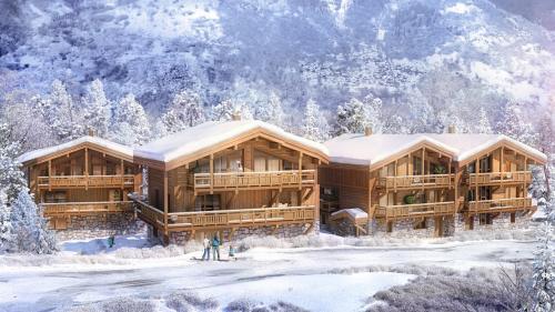 Maison de luxe à vendre COURCHEVEL, 264 m², 4 Chambres