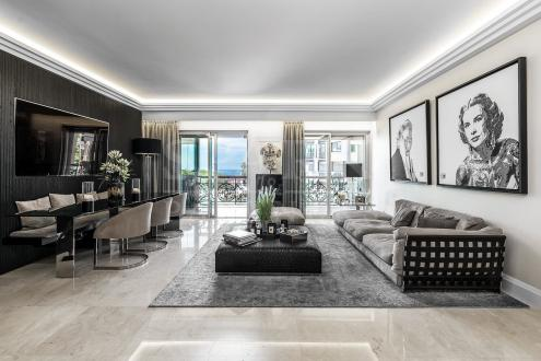 Квартира класса люкс на продажу  Монако, 125 м², 2 Спальни, 8500000€