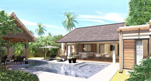 Villa de luxe à vendre Ile Maurice, 165 m², 3 Chambres, 589744€