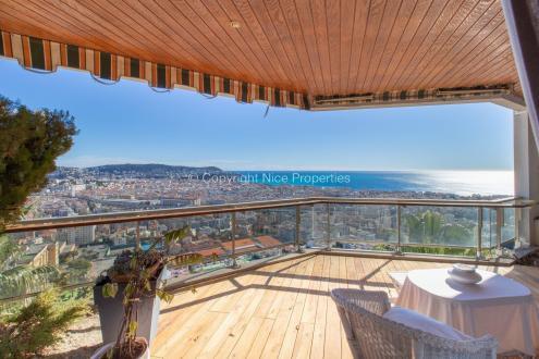 Квартира класса люкс на продажу  Ницца, 160 м², 3 Спальни, 1499000€
