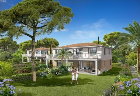 Квартира класса люкс на продажу  Сент-Максим, 100 м², 3 Спальни, 890000€