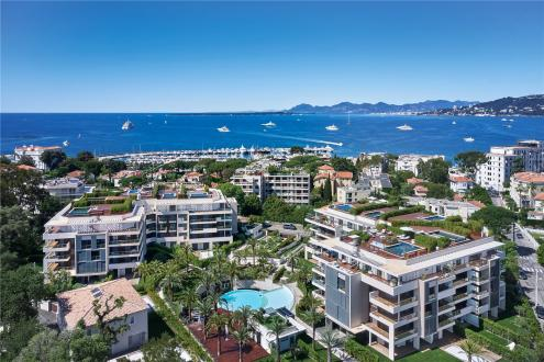 Luxus-Wohnung zu verkaufen CAP D'ANTIBES, 115 m², 3 Schlafzimmer, 2150000€