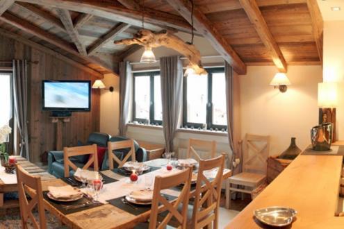 Luxus-Wohnung zu vermieten COURCHEVEL, 105 m², 3 Schlafzimmer,