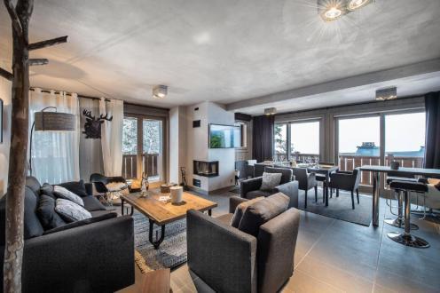 Luxus-Wohnung zu vermieten COURCHEVEL, 85 m², 2 Schlafzimmer,