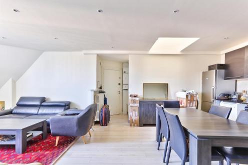 Luxus-Wohnung zu verkaufen PARIS 16E, 61 m², 2 Schlafzimmer, 880000€