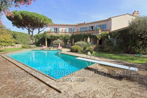 Villa de luxe à vendre SAINT TROPEZ, 480 m², 6 Chambres, 8480000€