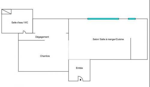 Luxury Loft for sale PARIS 19E, 65 m², 1 Bedrooms, €675000