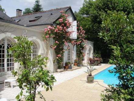 Maison de luxe à vendre SAINT CYR SUR LOIRE, 400 m², 8 Chambres, 873600€
