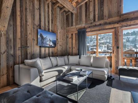 Luxus-Chalet zu vermieten MEGEVE, 497 m², 7 Schlafzimmer,