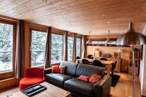 Appartement de luxe à louer COURCHEVEL, 70 m², 2 Chambres