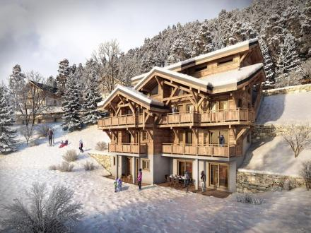 Luxus-Chalet zu verkaufen MORZINE, 134 m², 4 Schlafzimmer, 1071200€