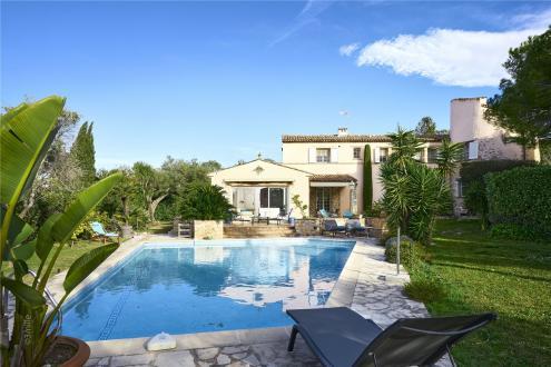 Maison de luxe à louer CAP D'ANTIBES, 5 Chambres