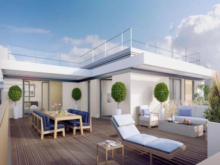 Chalet de luxe à vendre ISSY LES MOULINEAUX, 114 m², 3 Chambres, 1784000€