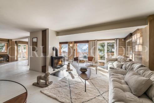 Luxus-Chalet zu vermieten MERIBEL LES ALLUES, 400 m², 8 Schlafzimmer,
