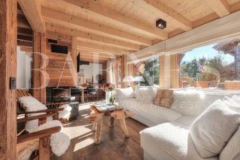 Chalet de luxe à louer MEGEVE, 1 m², 3 Chambres,