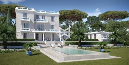 Luxus-Villa zu verkaufen CAP D'ANTIBES, 453 m², 8 Schlafzimmer, 13900000€
