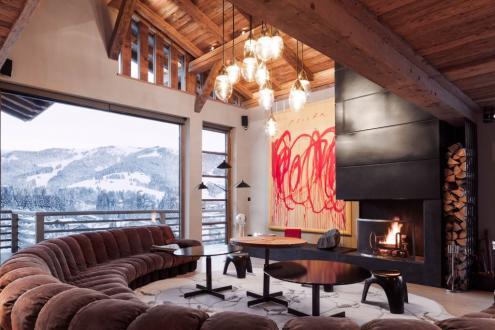 Luxus-Chalet zu vermieten MEGEVE, 500 m², 6 Schlafzimmer,