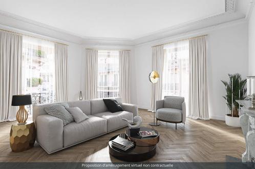 Appartement de luxe à vendre PARIS 8E, 144 m², 2 Chambres, 2660000€