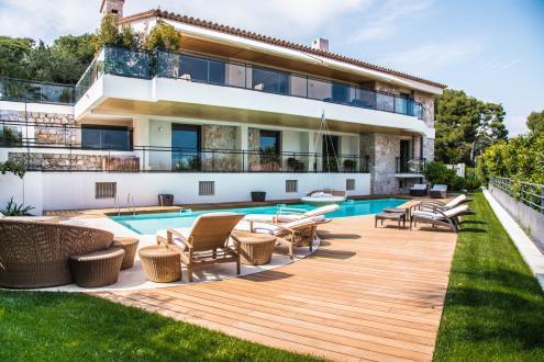Luxury House for rent SAINT JEAN CAP FERRAT, 500 m², 5 Bedrooms,