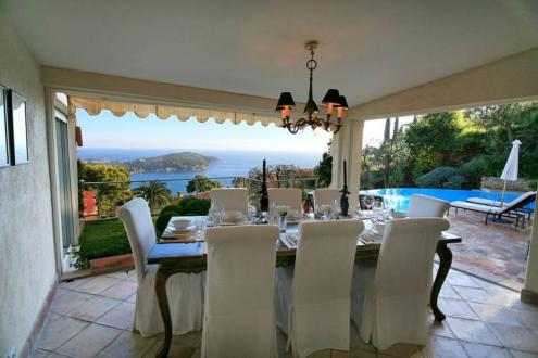 Luxury House for rent VILLEFRANCHE SUR MER, 220 m², 4 Bedrooms,