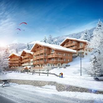 Luxus-Wohnung zu verkaufen CHATEL, 125 m², 4 Schlafzimmer, 956000€