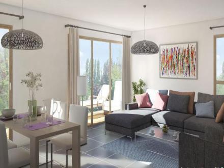 Luxus-Wohnung zu verkaufen ANNECY LE VIEUX, 90 m², 3 Schlafzimmer, 547000€