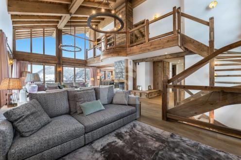 Luxus-Chalet zu vermieten COURCHEVEL, 460 m², 5 Schlafzimmer,