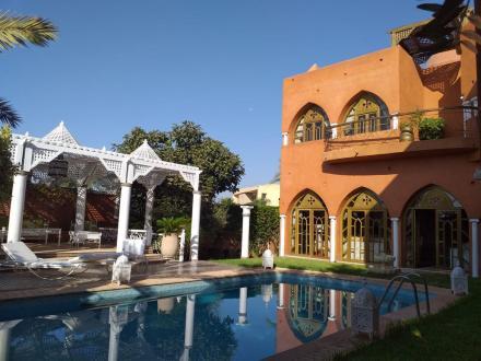 Luxe Domein  te koop MARRAKECH, 545 m², 5 Slaapkamers, 1150800€